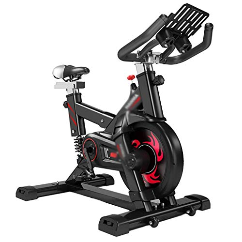 SISHUINIANHUA Work Out Exercise Bike, Spinning Bike Run Household Bicycle Indoor Movement Bicycle Lose Weight Fitness Equipment 109 56 112CM Body Sculpting