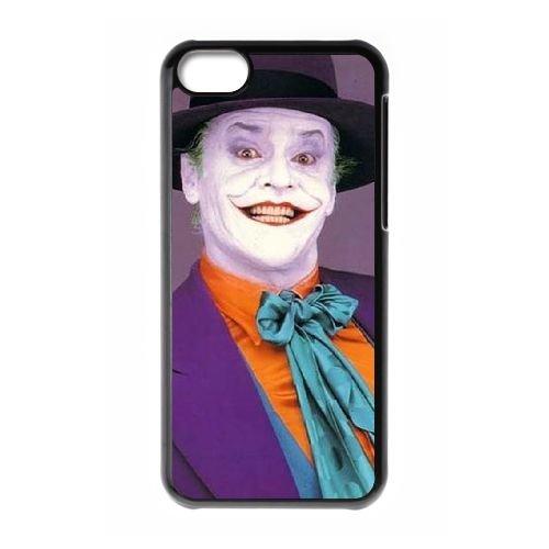 Batman Joker coque iPhone 5C Housse téléphone Noir de couverture de cas coque EBDOBCKCO09260