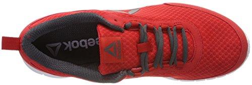 Reebok Herren Speedlux 3.0 Laufschuhe Rot (Primal Red/Ash Grey/Pewter)
