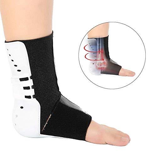 Foot Splint Ankle, Foot Droop Orthosis, Corrector Foot Drop Posture Night Sleep Foot Support, Helps Relieve Symptoms of Plantar Fasciitis Firm Stabilizing,Left