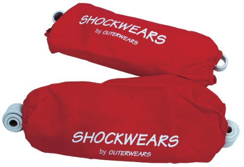 Outerwears Shockwears Shock Cover - Rear/Red 30-1007-03
