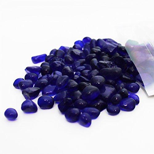 UPC 859132002174, Nature Aquarium Polished Glass Gravel - Dark Blue Glass Gravel 8 oz. Large
