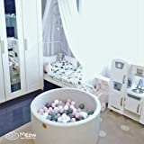 MEOWBABY 35 x 11.5 in/No Balls Foam Ball Pit for