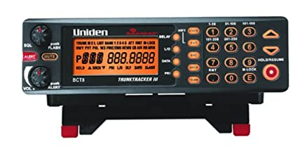 amazon com uniden bearcat bct8 beartracker warning system with 800 rh amazon com uniden scanner bct8 manual Uniden Police Scanners