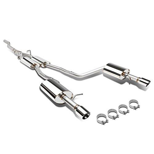 DNA Motoring CBE-FM96GTV8 Catback Exhaust System for 96-04 Ford Mustang GT V8