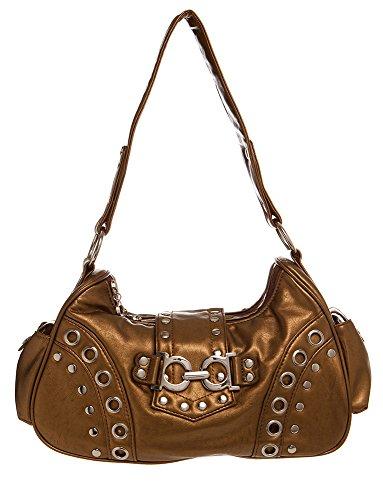 (Shoulder Studded Hobo Shoulder Handbag by Handbags For All)