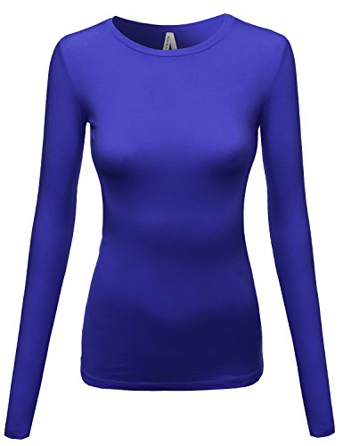Womens Lightweight Casual Crewneck Sleeve product image
