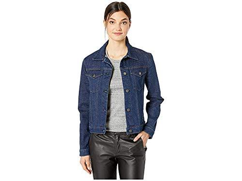 Hudson Jeans Women's Classic Trucker Jean Jacket, Prevail, MD