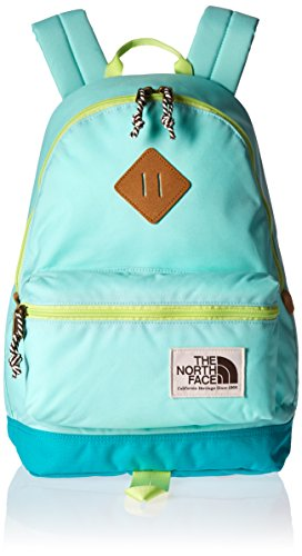 Price comparison product image The North Face Unisex Mini Berkeley (Little Kid / Big Kid) Ice Green / Sharp Green Backpack