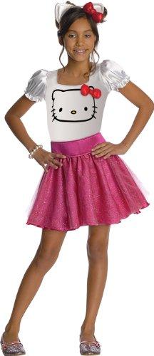 884752 (12-14) Hello Kitty Tutu Dress Pink