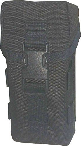 - FireForce 8937 Military Airborne Series Single Pocket Triple Mag Pouch MOLLE Made in USA (Black)