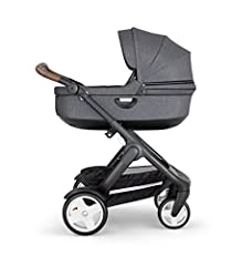 Bring your newborn to explore the world safely from the Stokke Stroller Carry Cot. Its luxuriously soft interior and hard-shell exterior is designed specifically to keep your baby cozy and safe on your adventures.