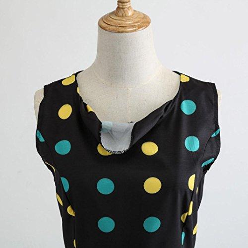 Robe de avec Audrey Ceinture Vintage 's Bal annes 48 Hepburn Sexy Rockabilly Femme Robe de sans Manches Swing 50 Style 60's Cocktail Robe Rtro Classique wtqTtBOg
