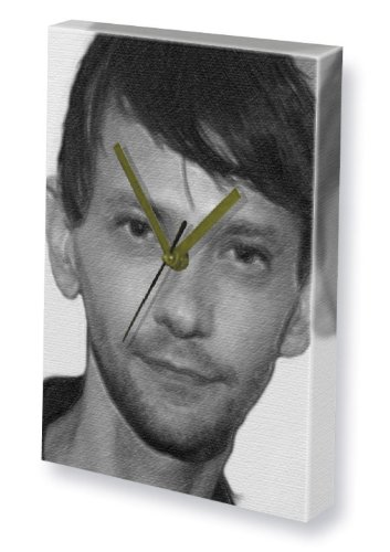 Seasons DJ QUALLS - Canvas Clock (LARGE A3 - Signed by the Artist) #js002