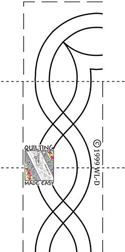 Borders Made Easy Pattern 105 by Quilting Made Easy, Inc.