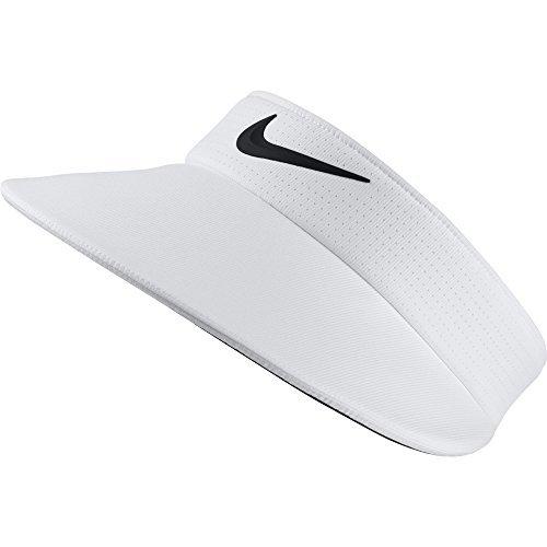 NIKE Women's Aerobill Big Bill Visor (White)