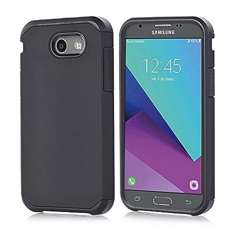 Galaxy J7 V Case, Galaxy Halo / J7 Prime / J7 Perx / J7 Sky Pro Case, Galaxy J7 2017, GPROVA Dual Layer Slim Fit Protective Case Cover For Samsung Galaxy J7 2017 (Galaxy Speck 5s Case)