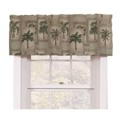 Palm Tree Tropical Valance (Tropical Valances)