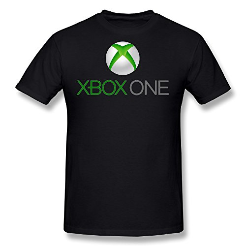 Price comparison product image HUAYUANDA Men's New Xbox One Xbox1 Video Game Funny T-shirt Black