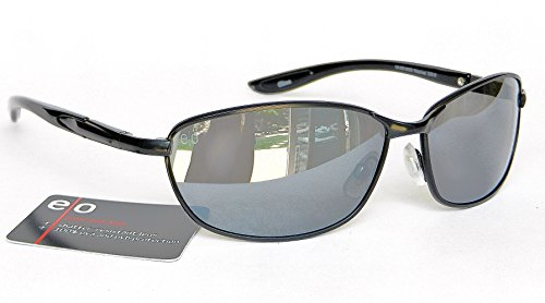 Extreme Optics E/O Mens Polarized Sunglasses (1459) 100% UVA & UVB Protection+ FREE BONUS MICROSUEDE CLEANING - Magnivision Sun Readers