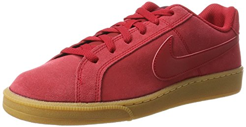 Royale Lt gum Wine gym Rojo Red Nike Court Red Hombre Brown Para port Zapatillas gym Suede AR5w6Hq