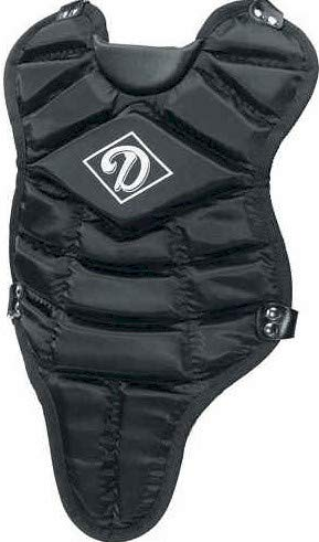 Diamond Sports 13-Inch Body Length Youth Chest Protector (Black)