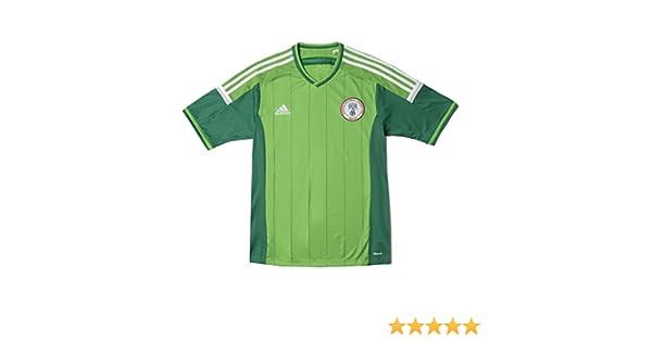 Adidas - Camiseta de fútbol de Nigeria 2014 para hombre: Amazon.es ...