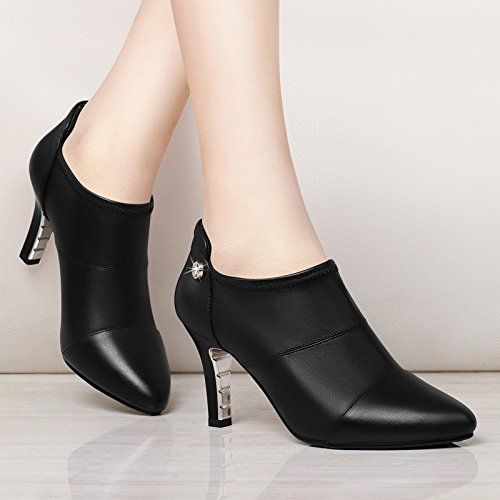 Spring New Shoes The Heels Shoes All Pointed HGTYU Thirty With Match Ladies Stiletto six 40qwA5Y