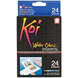 Koi Water Colors Pocket Field Sketch Box W/Brush-2 (Pack Of 1)