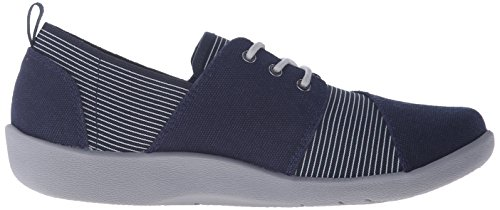 Clarks Kvinners Cloudsteppers Sillian Joss Walking Sko Navy