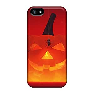 Iphone Case - Tpu Case Protective For Iphone 5/5s- Happy Halloween by mcsharks