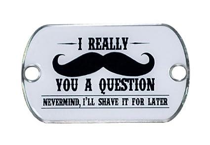 amazon com 10pcs gorilla paracord mustache you a question two