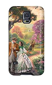 New Shockproof Protection Case Cover For Galaxy S5/ Gone With The Wind Case Cover