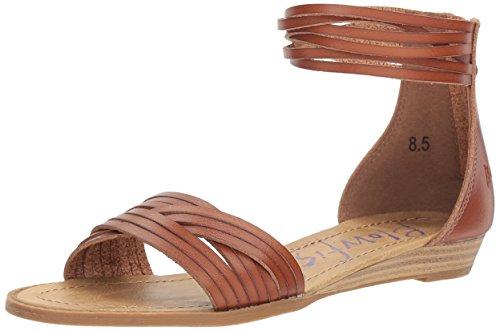 Blowfish Women's Baot Wedge Sandal, Scotch Dyecut Pu, 8 M US