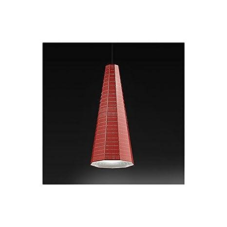 Artemide Null Vector Alfa - Lámpara de techo, color naranja ...