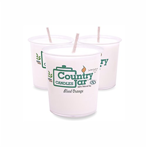 Country Jar BLUEBERRY CHEESECAKE Votive Candles (6.25 oz. - 3 Votive Set) New Year Sale 20% OFF! 3 or More Entire Catalog!