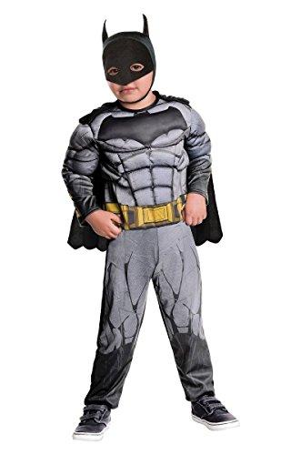 Toddler Boys Batman Muscle Chest Costume/Jumpsuit Size