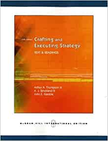 Crafting and executing strategy with case for Crafting and executing strategy cases