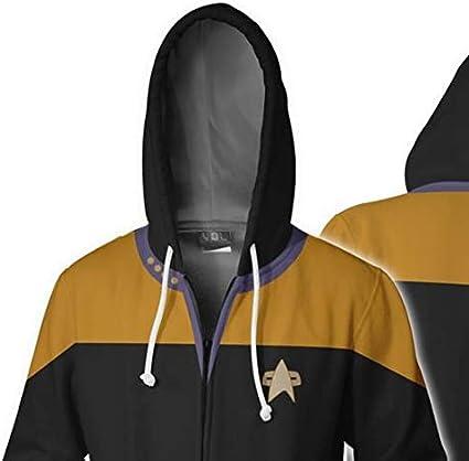 Herren Strickjacke Star Trek Series Digital Printing