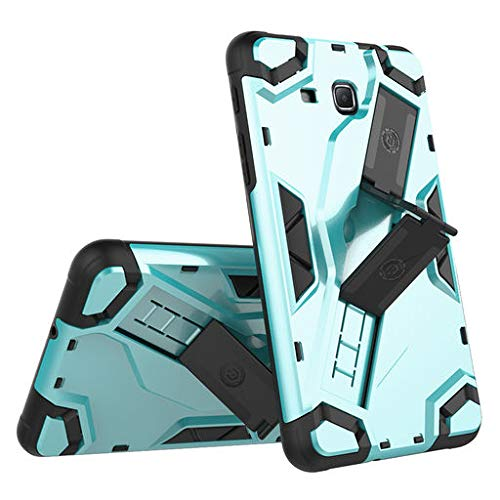 Easter's Best Gift !!! Cathy Clara Ultra-Thin Rubber Bumper Dual Protective Shockproof Hybrid Rugged Silicone Hard Case with Stand & Strap Holder,for Samsung Galaxy Tab A 7.0 SM-T280/T285 7 Inch