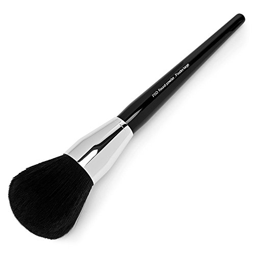 Professional Powder Foundation Face Brush,Large Round Top Mineral Blush Makeup Brush (Foundation Copper Powder)