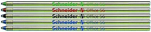 Bol/ígrafo de Cuatro Colores con Mecanismo Deslizante Incluye Minas de Repuesto Wedo