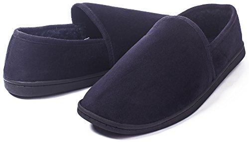 Chaudes Chaussons Marine Shoes Femme Bout Coton Ferm¨¦ AgeeMi Hiver Mixte Pantoufles YAUqw