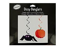 bulk buys Halloween Spider and Amp, Pumpkin Dizzy Danglers by bulk buys