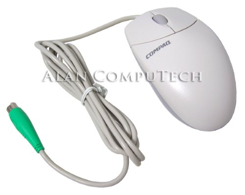 - COMPAQ - Compaq M-S69 Scroll PS2 Quartz Mouse NEW 237217-001 2-Button 334684-107