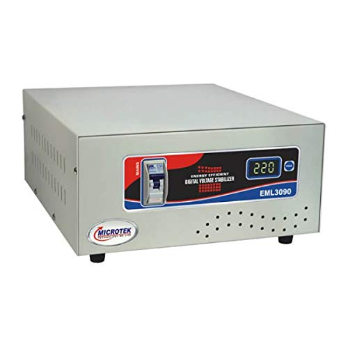 Microtek EML3090 90-300V Digital Voltage Stabilizer