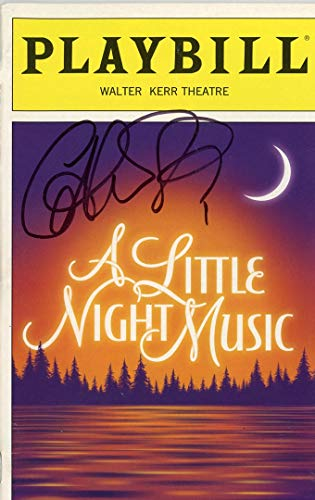 CATHERINE ZETA-JONES - A Little Night Music AUTOGRAPH Signed Playbill from TopPix Autographs