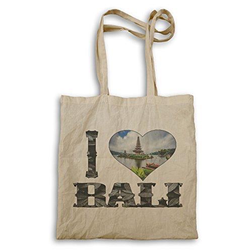 Ich Liebe Bali Indonesien Kunst Tragetasche r935r