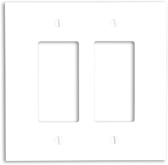 Leviton 88602 2 Gang Decora Gfci Device Decora Wallplate Oversized Thermoset Device Mount White Amazon Ca Tools Home Improvement