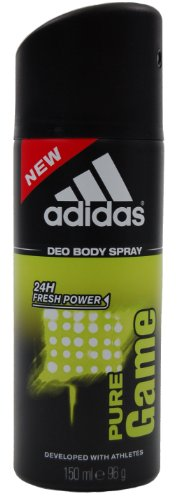 Price comparison product image Adidas Pure Game Deodorant Body Spray for Men